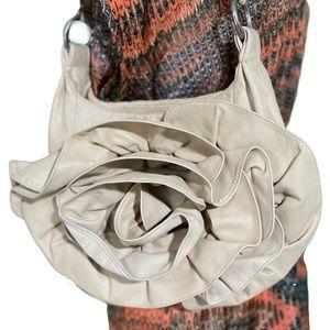 EUC Yves Saint Laurent Naja Rose Petal Leather Bag